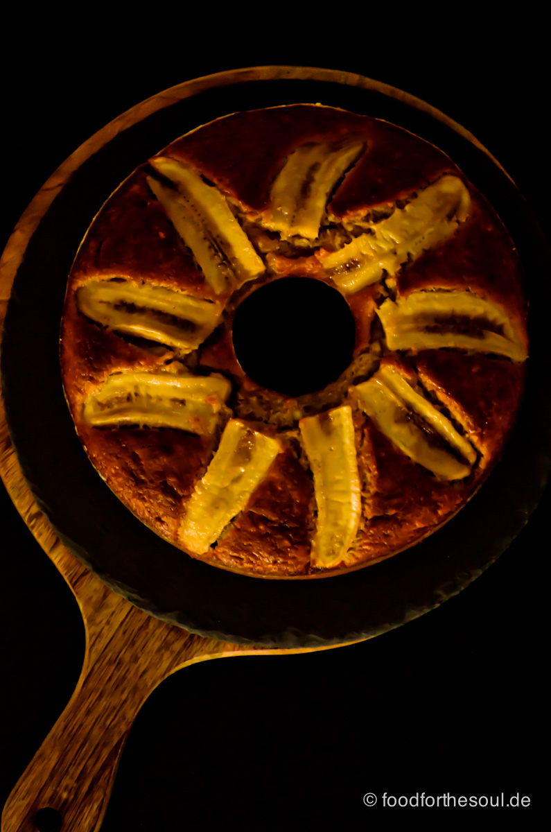 Bananen Mandel Brot