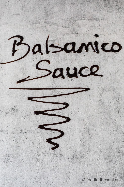 Balsamico Sauce einfach selber machen