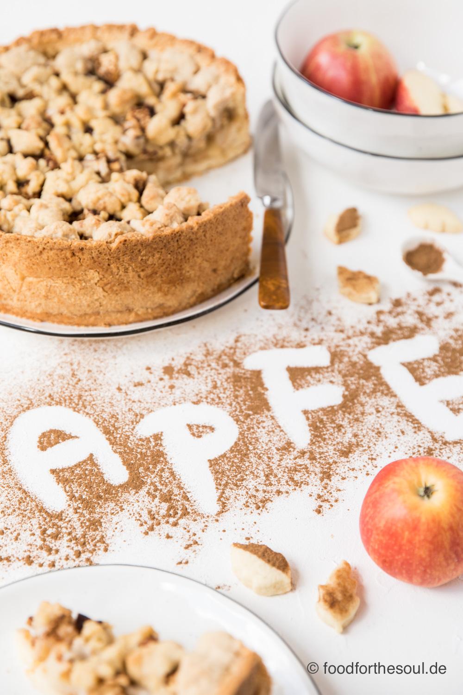 Klassiker Apfelkuchen mit Streusel