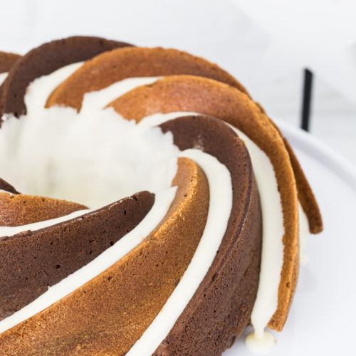 Schokoladen-Eierlikör-Gugelhupf