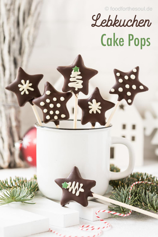 Lebkuchen Cake Pops ohne Cake Pop Maker