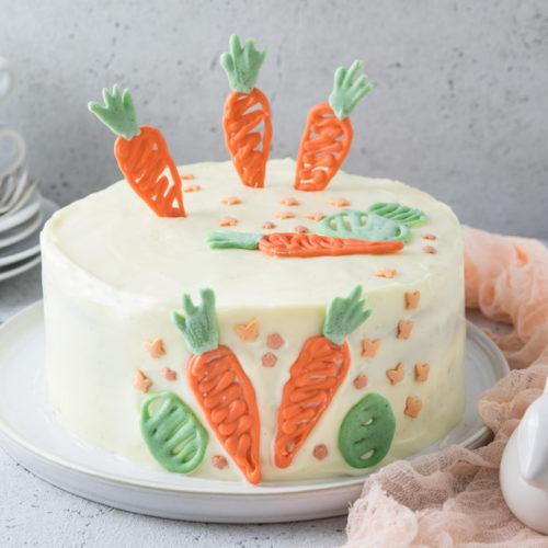 Karottenkuchen Möhrenkuchen Rüblikuchen Karottentorte Möhrentorte Rüblitorte