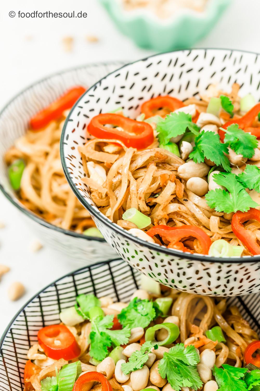 Pad Thai vegetarisch asiatisch thailändisch