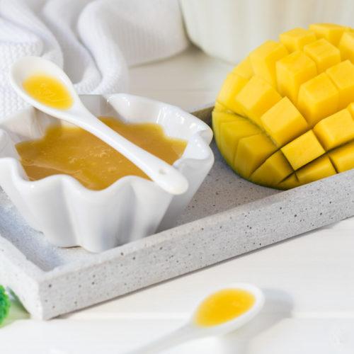 Mango Essig Balsamico Rezept selber machen selbstgemacht Flasche