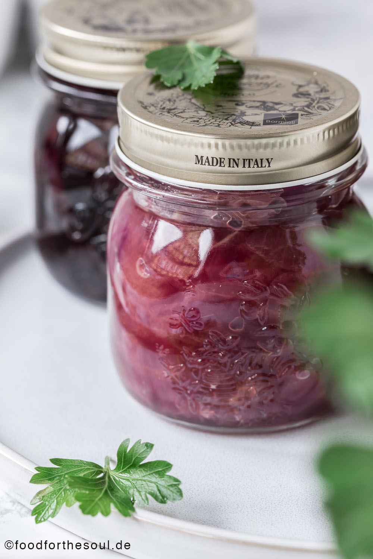 Zwiebel Chutney einfach selber machen food for the soul Zwiebelmarmelade