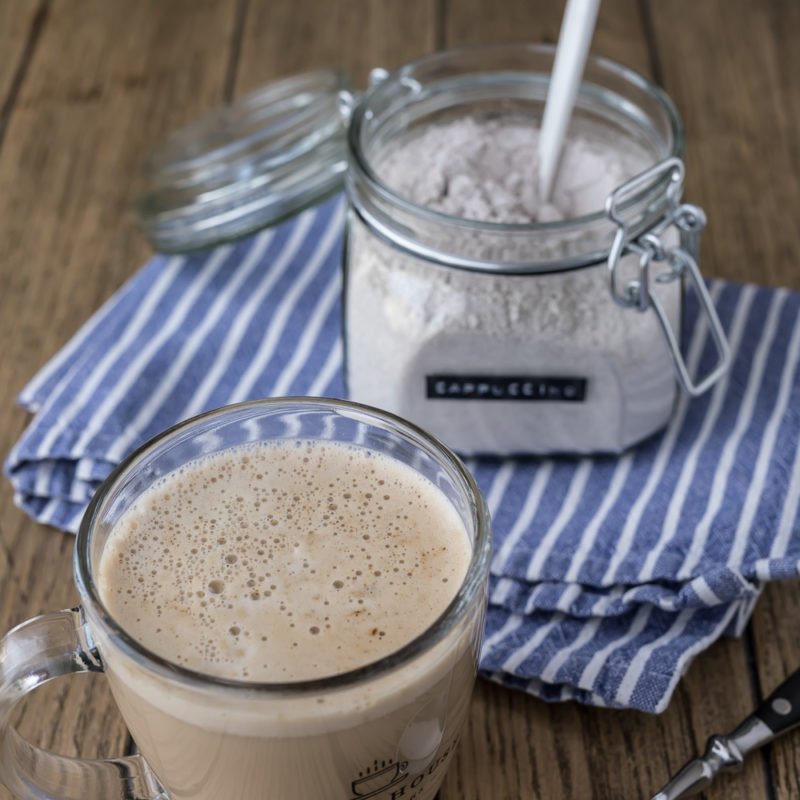 Cappuccino Pulver einfach selber machen - food for the soul